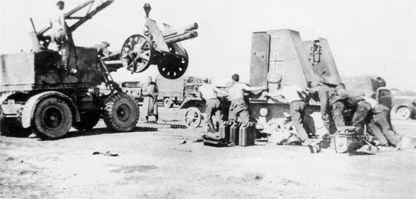 二战德军自行火炮的发展 从概念到终战