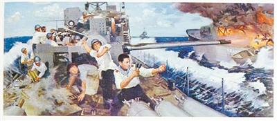 """中越西沙海战_中越""""西沙海战""""谁先开的炮?_空中网军事频道"""