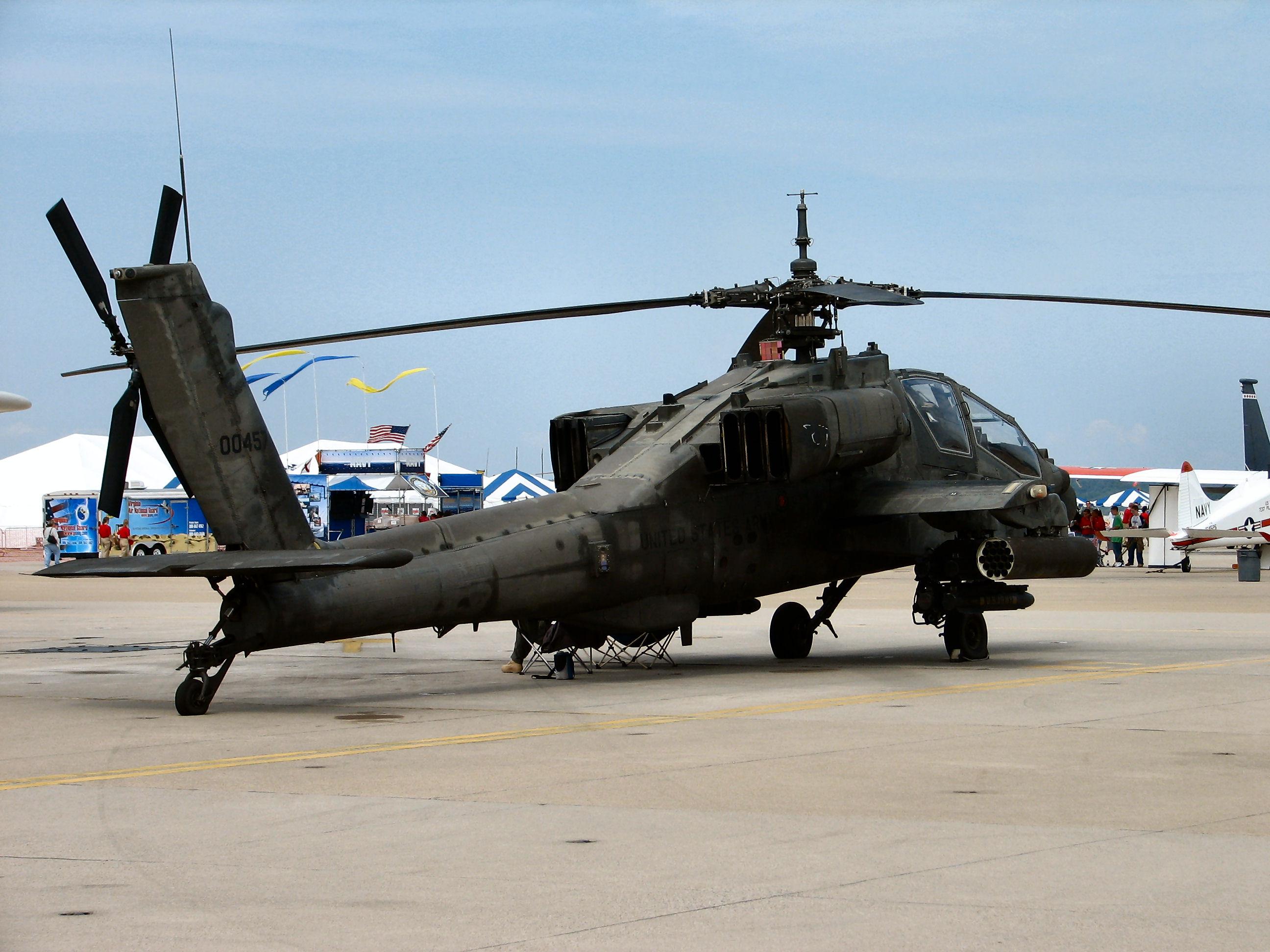 ah-64阿帕奇武装直升机一系列