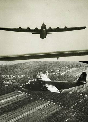 二战德国海上巨兽——bv222水上飞机