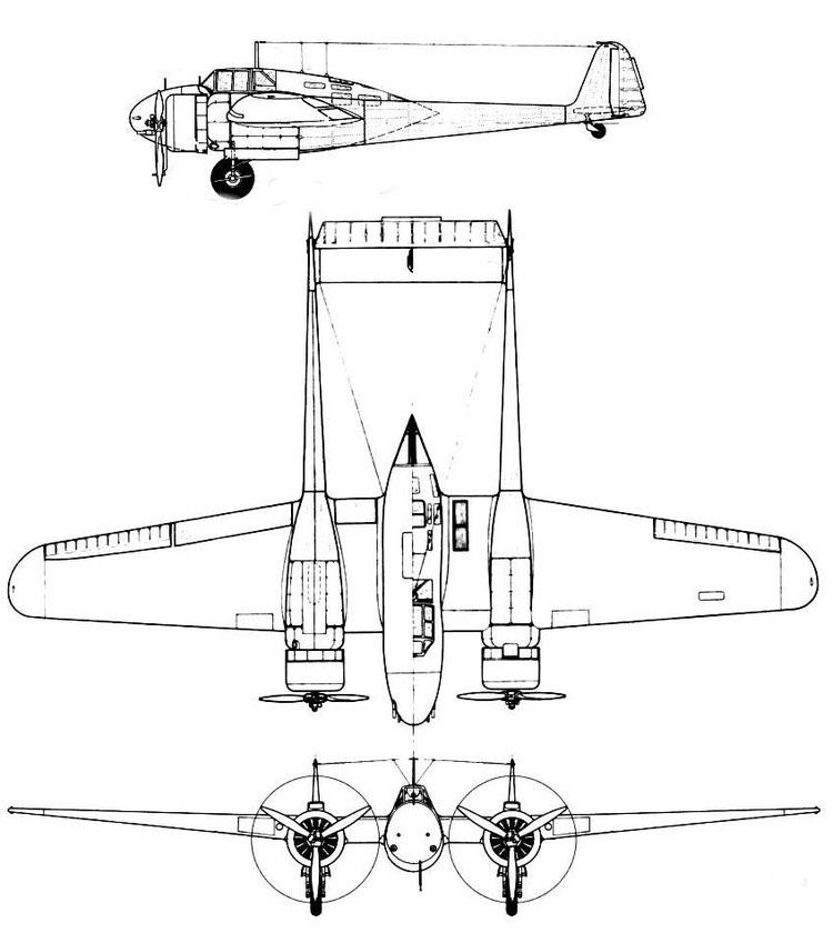 荷兰双发双尾撑气动布局福克g.1战斗机