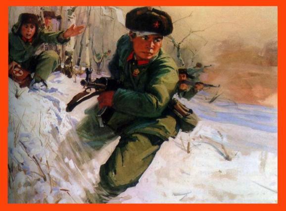 珍宝岛自卫反击战中牺牲的战士于庆阳