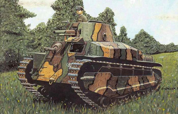 日本二战坦克绘画作品