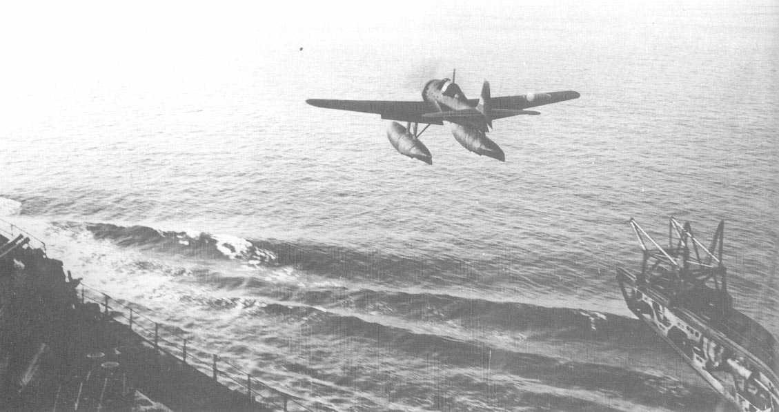 日本零式小水侦:日本早期舰载水上飞机