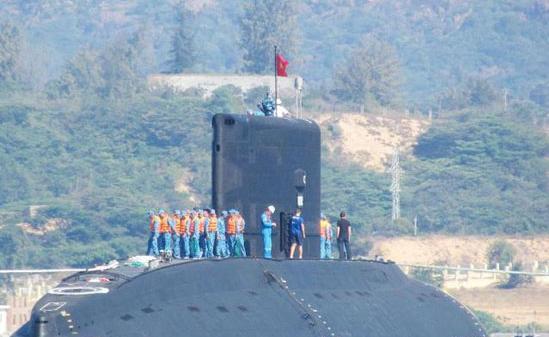 越南购6艘潜艇 专家:对中越海军对比不起作用