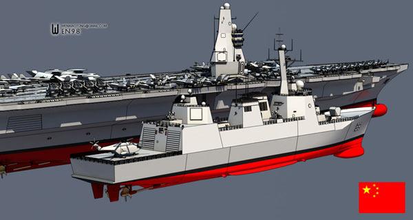 大胆级驱逐舰_中国海军明年开工建造万吨级导弹驱逐舰