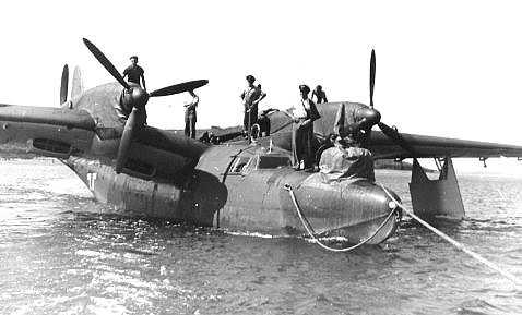 二战德国do.26型远程水上运输飞机