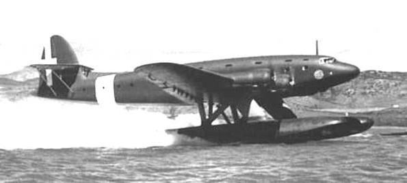 二战意大利 z.511型四发大型水上飞机