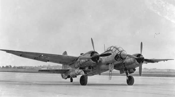 二战德国著名ju.388轰炸/侦察/夜间战斗机