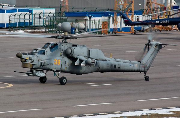 """>   米-28n""""暗夜猎手""""是俄罗斯目前最先进的武装直升"""