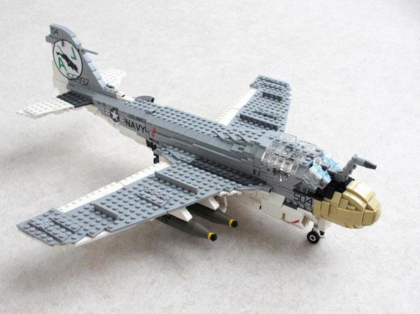 玩具要逆天用乐高积木搭出的飞机和战斗机pu导弹玩具图片
