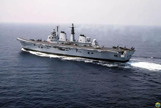 马岛战争 英国轻航母大显神威