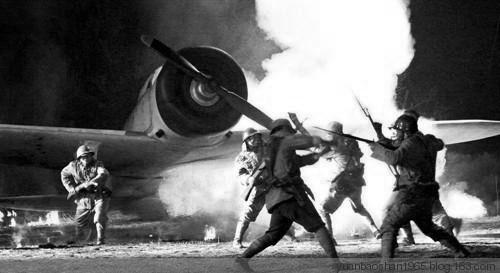 八路军奇袭阳明堡机场 一小时击毁24架日寇飞机