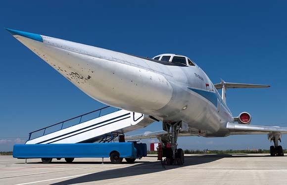 图-134支线客机 俄罗斯轰炸机机组的训练飞机