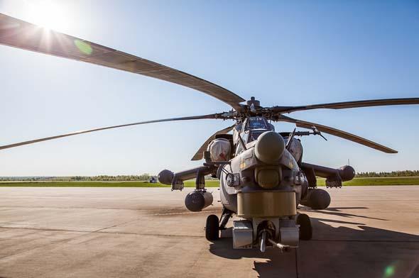 """俄罗斯米-28""""浩劫""""武装直升机"""