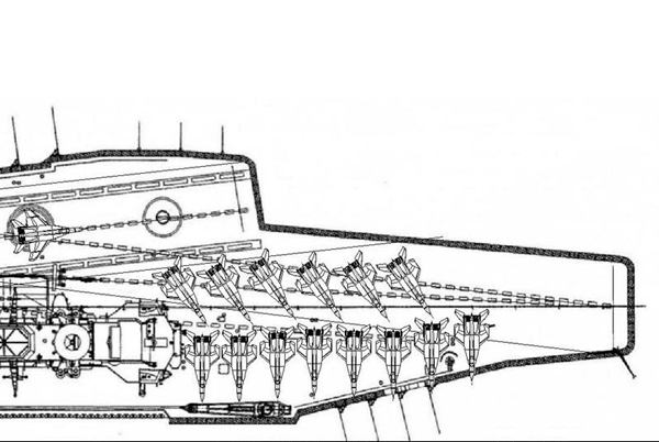 网友图解印航母调度,单波攻击最多12架战机