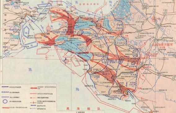 二战苏联战场地图