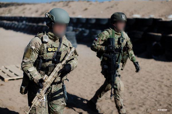 曝光俄反恐精英阿尔法特种部队