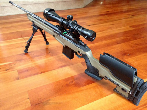 jae-700 顶级私人定制雷明顿700狙击步枪