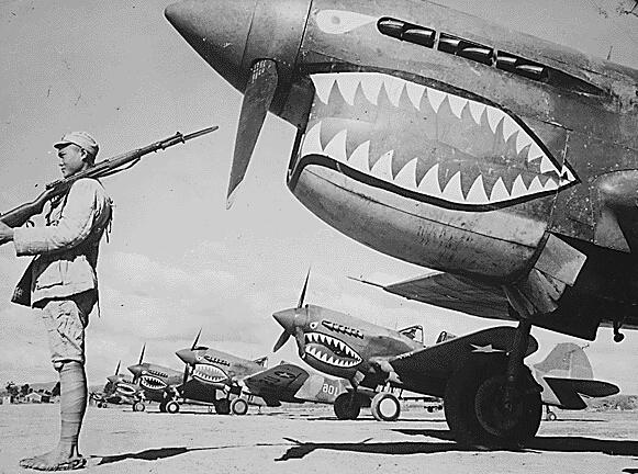 那些二战空中的飞机