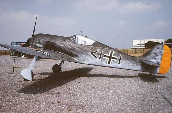 二战德国fw.190战斗机(三)