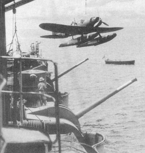 二战日本e-13a水上飞机