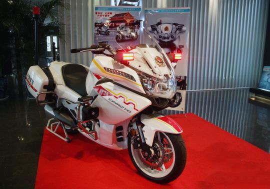 国宾护卫队新摩托为国货 cf650 摩托车设计俱乐部高清图片