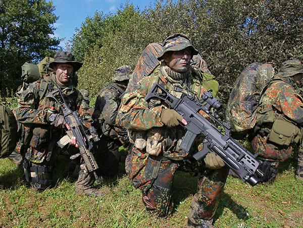 德国国防军同hk公司因g36步枪问题对簿公堂