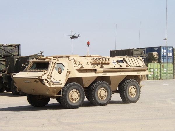 军事资讯_浅谈后起之秀:重型轮式装甲车还能顶主战坦克?