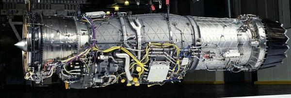 图:f135发动机基本结构还是继承f119