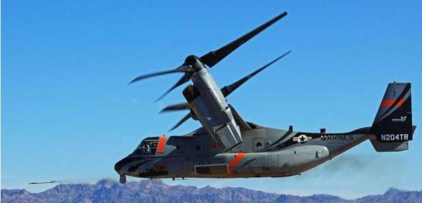 第三代鱼鹰机身交付 美国陆军战斗力将有飞越