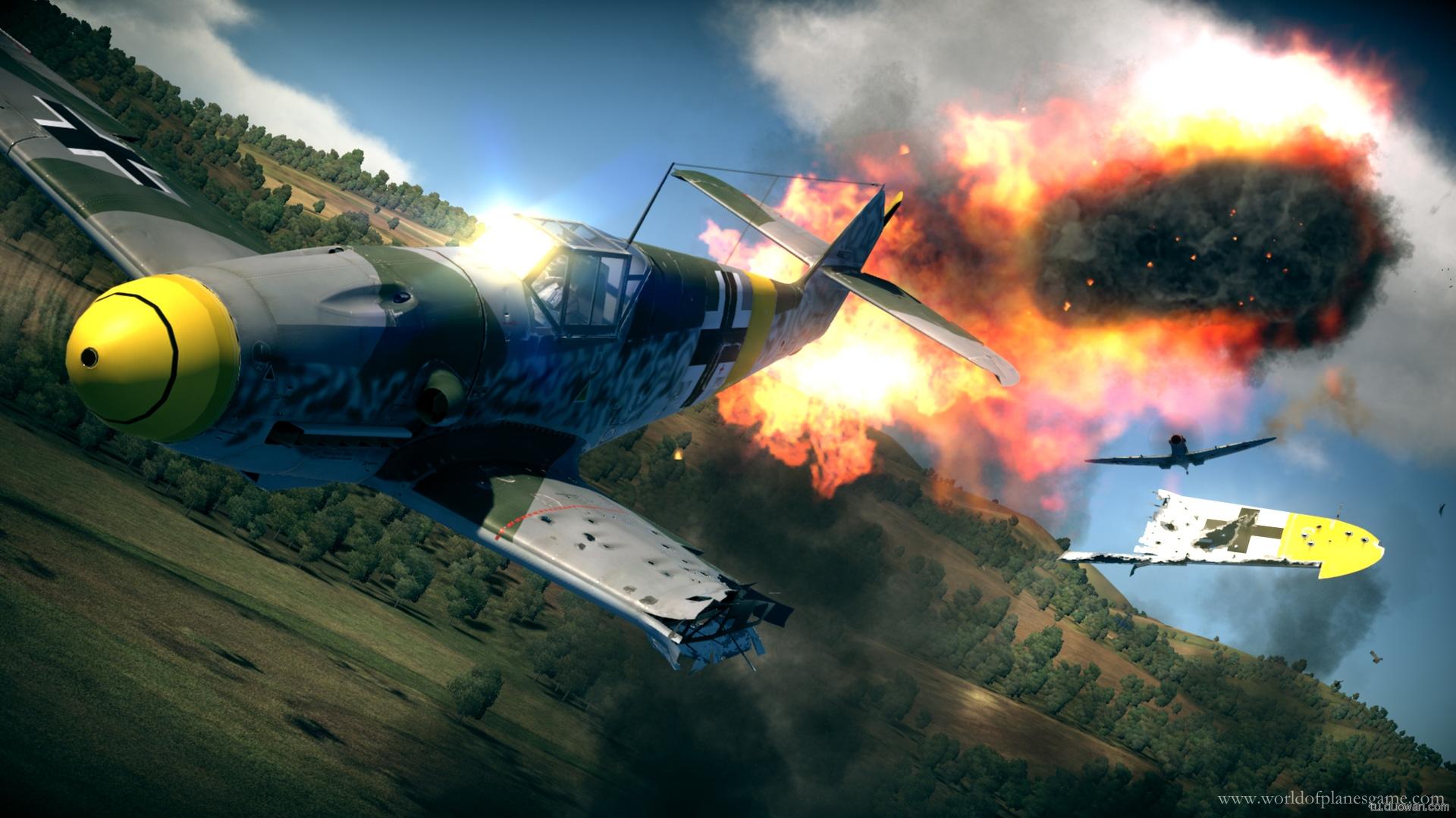 《战机世界》游戏画面精彩美图
