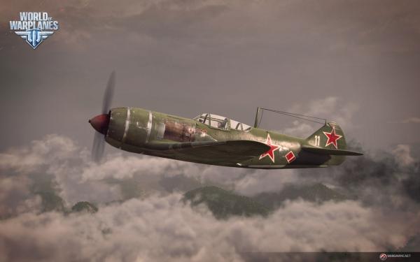 战机世界苏系la-5战斗机