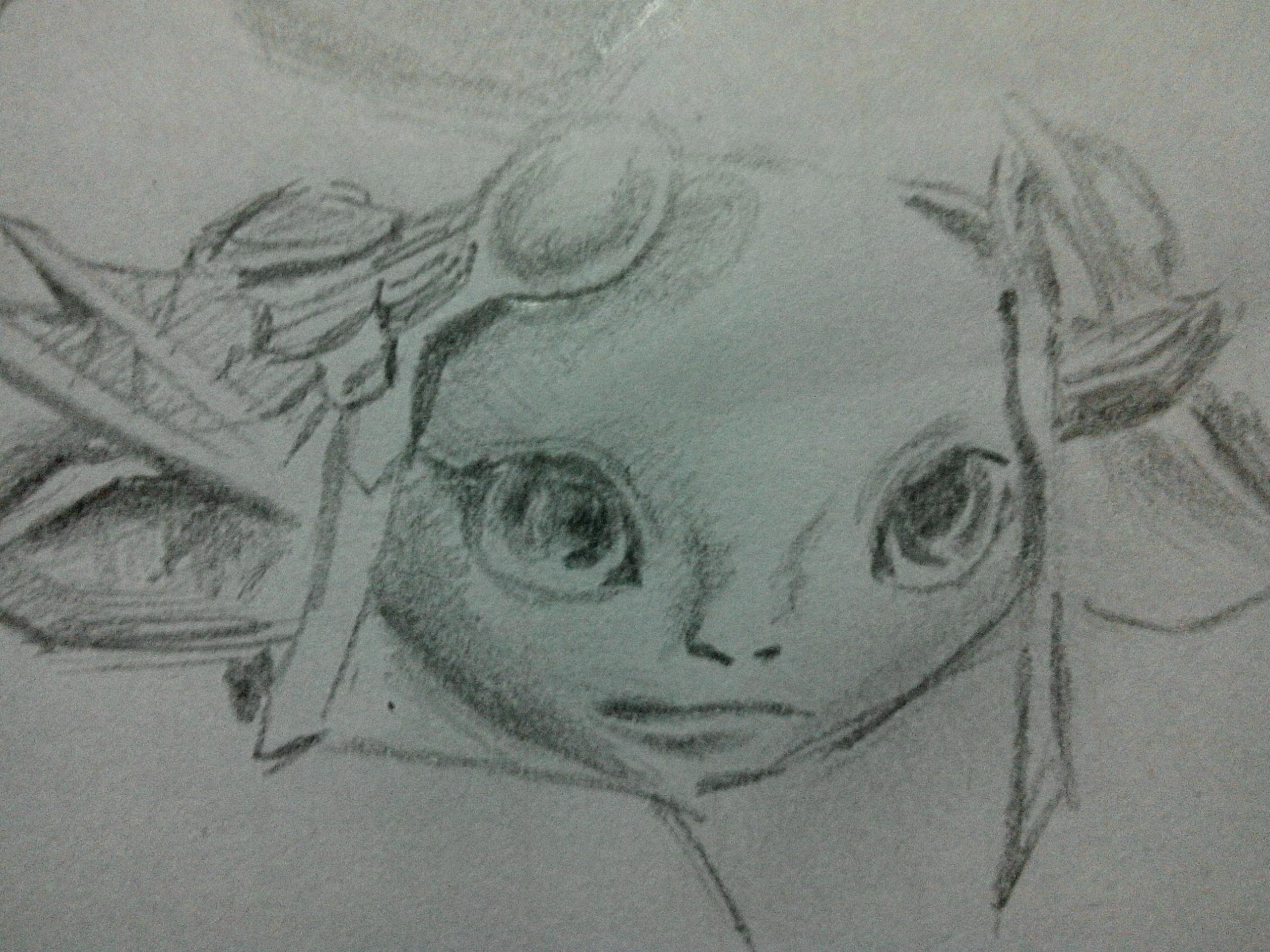 阿苏拉铅笔手绘图