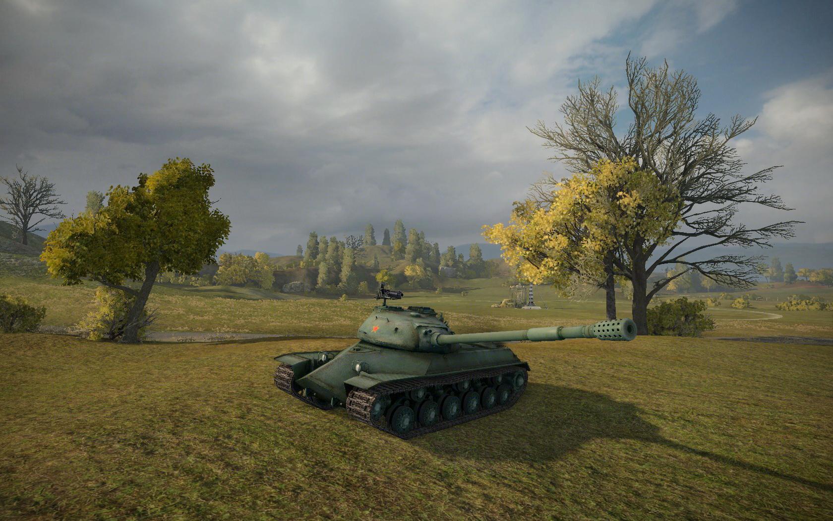 坦克世界》c系110游戏截图