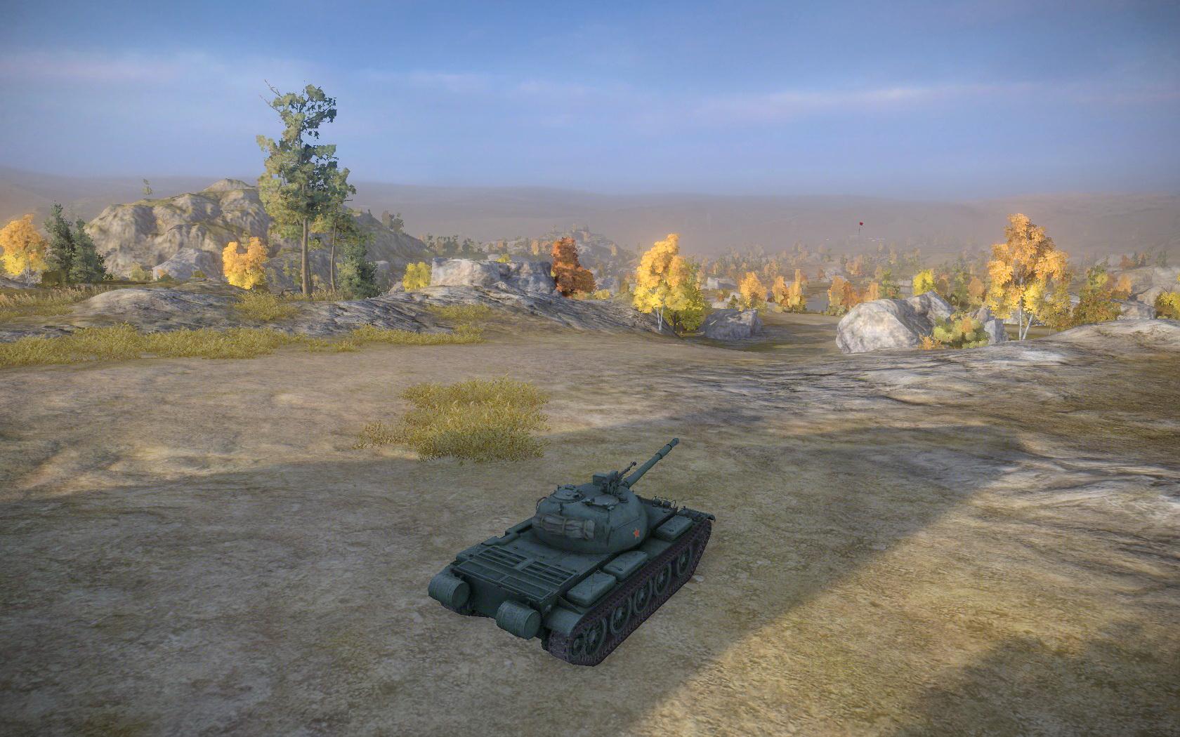 坦克世界》c系wz132坦克游戏截图