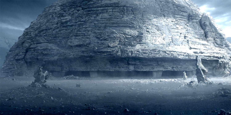 """当""""普罗米修斯""""号的组员降落他们远征核心目标的外星球上,他们发现一"""