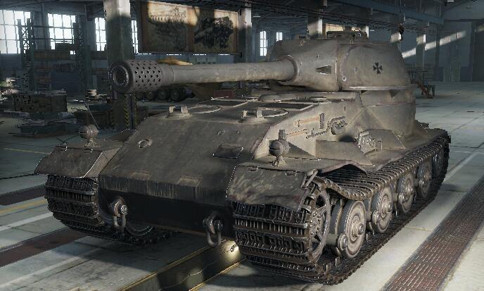 头条奖品:10级特种坦克vk7201