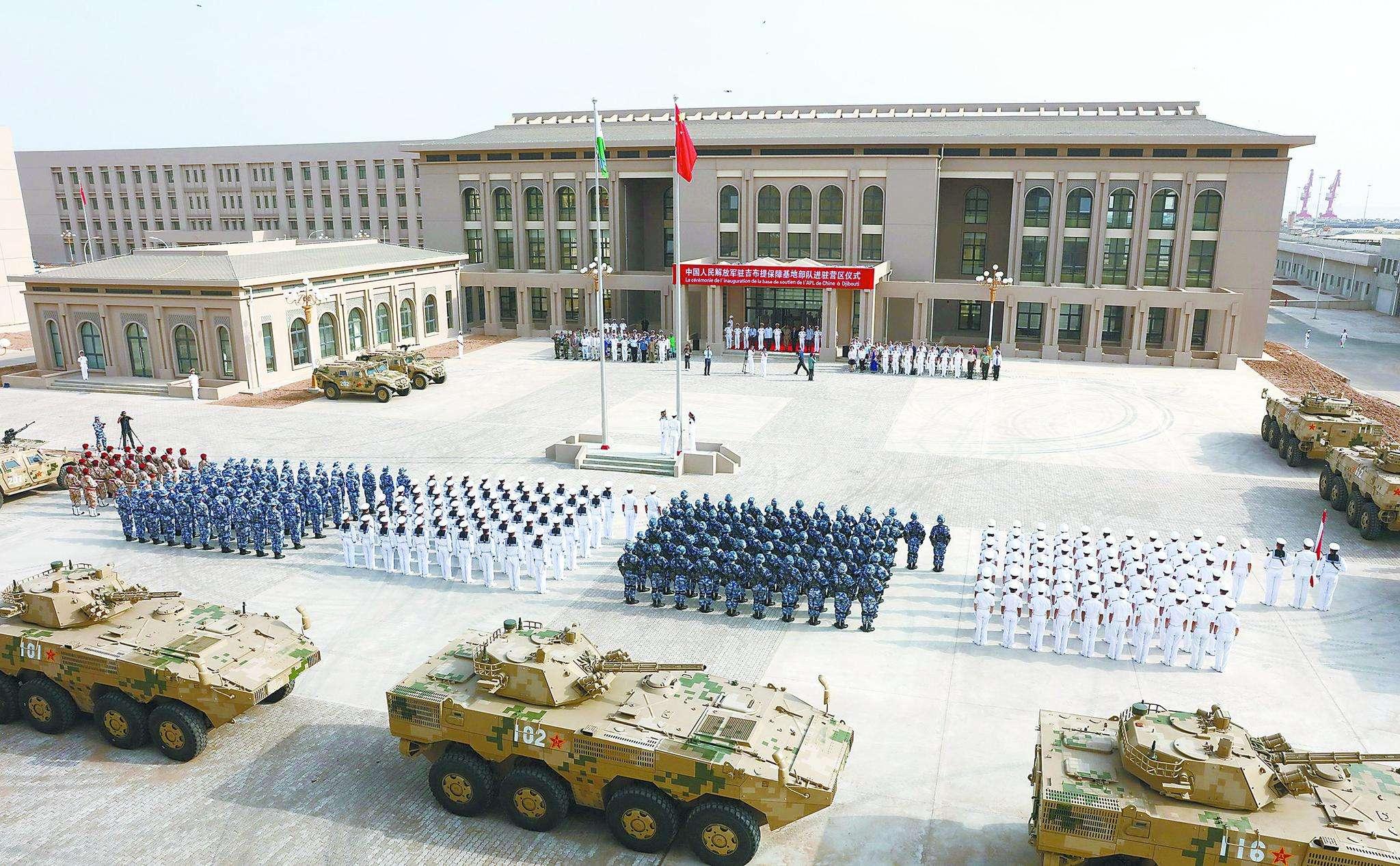 吉布提保障基地是解放军的首个海外基地