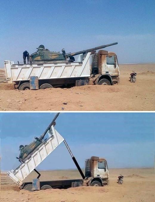 打飞机毫无压力:这种坦克主炮仰角60度!