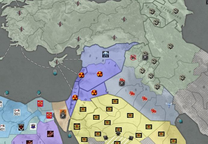 当小亚细亚半岛战局失利下海之后,君临天下也需要再找个地方站稳脚