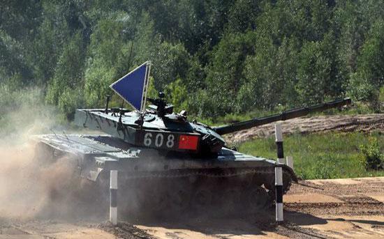 透过国际军事竞赛的96a1 看c系帅气战车