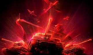 """与《坦克世界》、《战舰世界》联动,坚持""""free to play""""理念,玩法三合一,战火再升级!"""