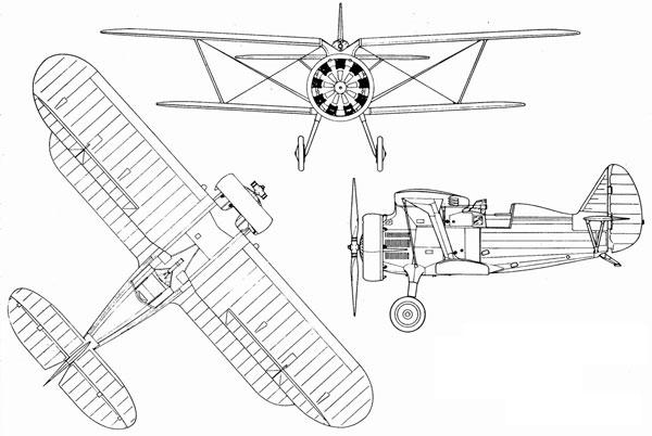 双翼战机的传奇 i-15系列战斗机