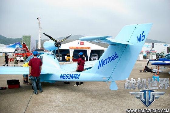 上飞机是珠海一家轻型飞机制造公司生产的,目标瞄准了国内新兴的私人