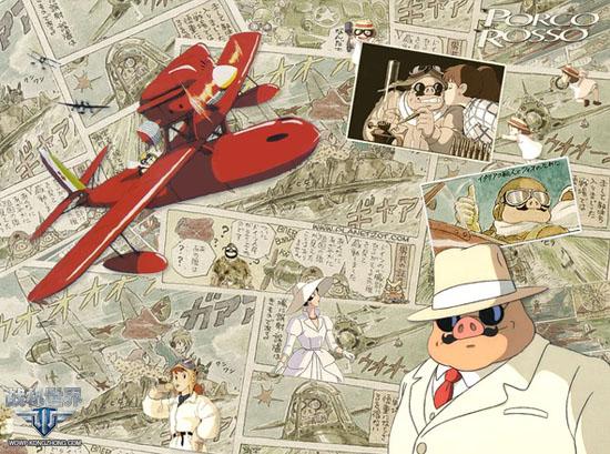 宫崎骏作品与《战机世界》不可不说的故事; 水上飞机; 为什么宫崎骏的