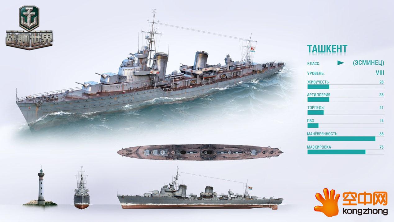 天蓝色的巡洋舰S系驱逐舰塔什干银剑3猫图纸1之强化巫师图片