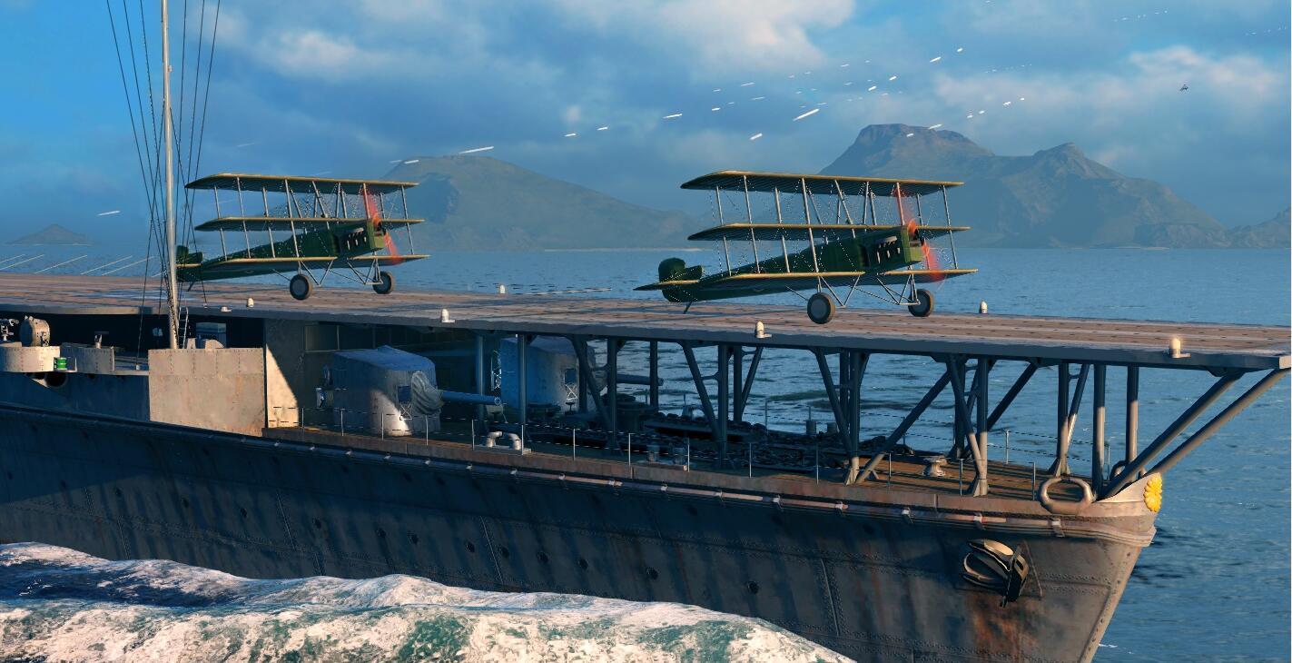 """各位""""凤翔""""号舰长,这款神秘飞机没玩过吧?"""