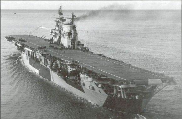 二战航母手绘图片