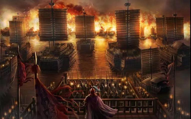 【中国古代水军的著名战役——赤壁之战】